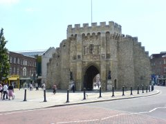 Southampton Bargate from the North