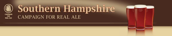 Southern Hampshire CAMRA website logo and link